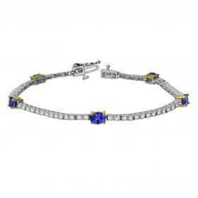 Tanzanite Diamond  Bracelet